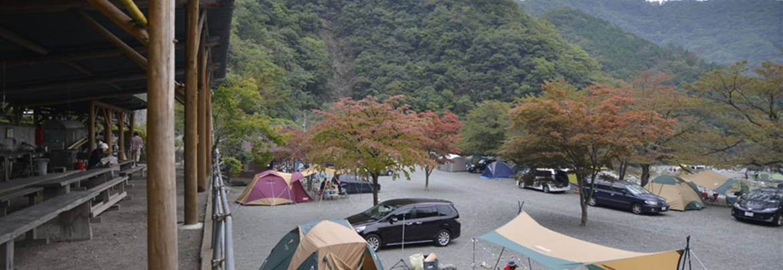 道 志村 の キャンプ 場